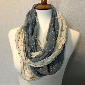 Starry Two-Toned Lightweight Scarf